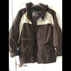 Men's Burton White Collection Snowboard Jacket